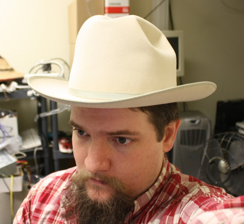 FS  Size 7 3 4 (fits like a 7 5 8) Stetson 10x Open road style hat  225  shipped 75c537039dd