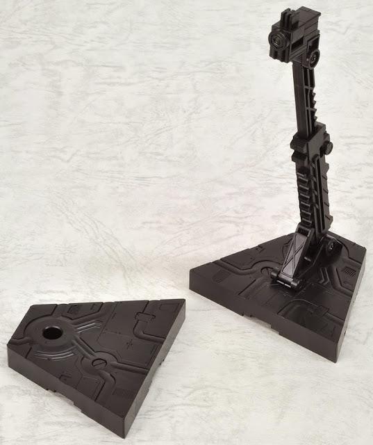 Chân đế dựng mô hình Gundam Action Base 2 Black có thể ghép nối thêm