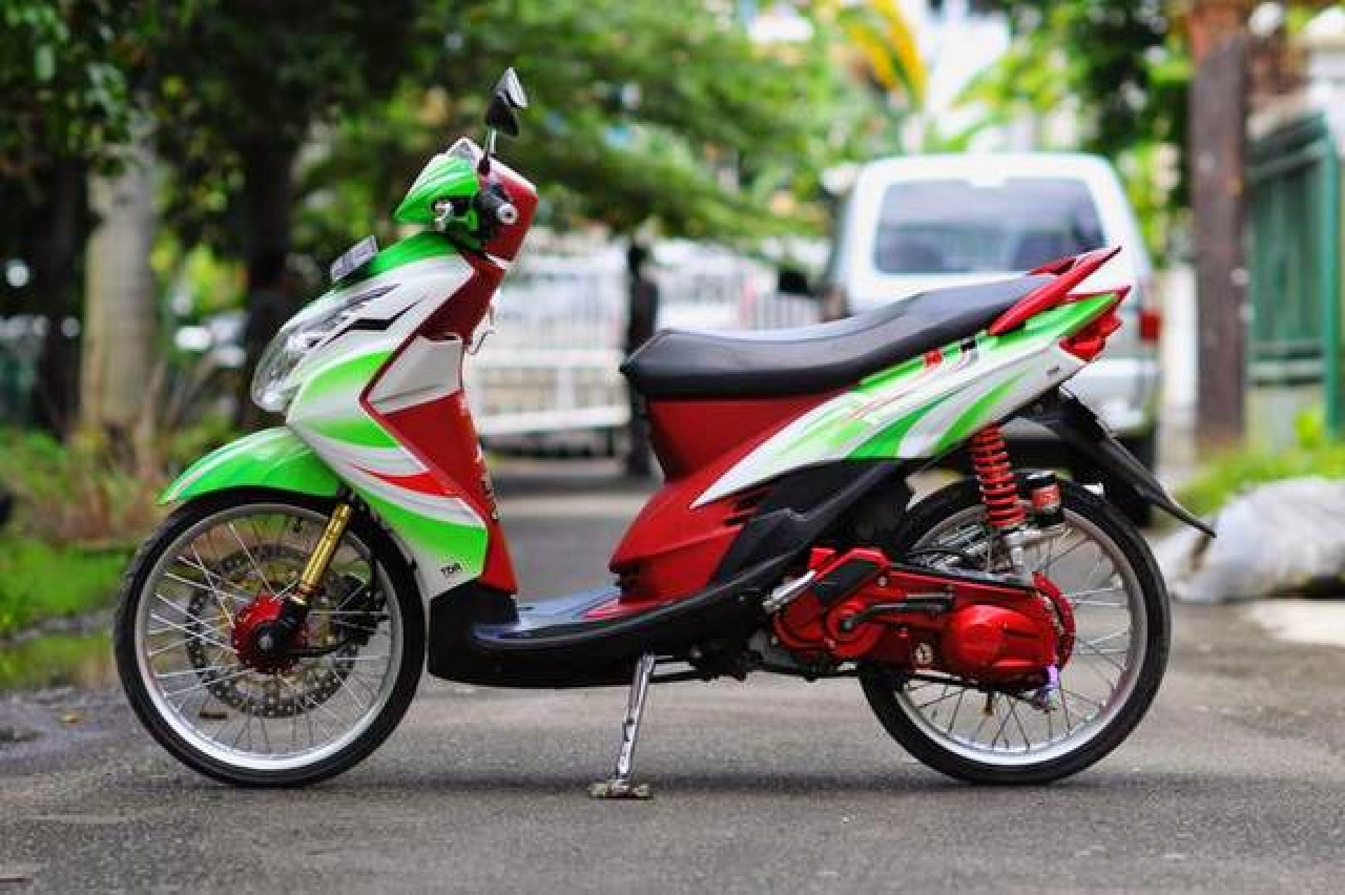 Modifikasi Simple Yamaha Mio J