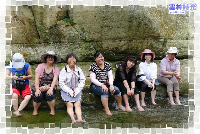 古坑草嶺-來石壁仙谷玩水吧! 體驗大自然