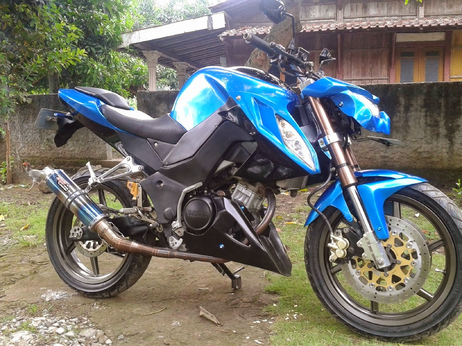 Modifikasi Byson Ala Touring