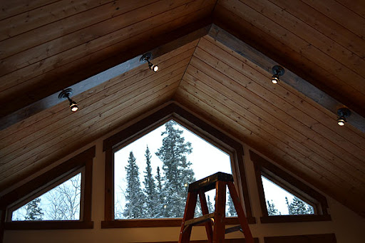 lighting for beams. And Here\u0027s A Crazy Thought For You - The Beams Of Light Actually Cost LESS Than Old Fixture Did! Gotta Love 2x4s. Lighting
