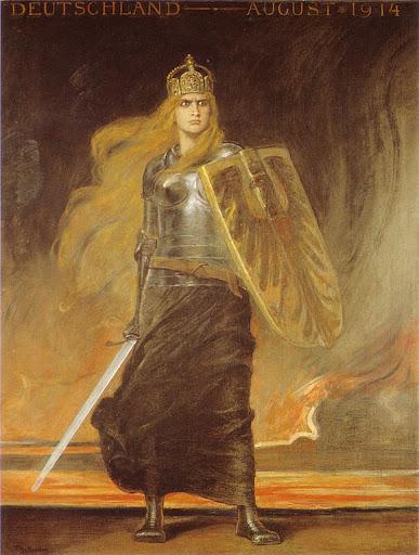 Friedrich August von Kaulbach - Germania, 1914