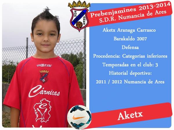 ADR Numancia de Ares. AKETX