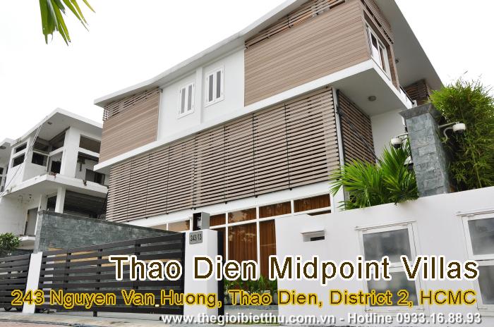 Làng biệt thự Thảo Điền Midpoint Villas, Quận 2 - BT56