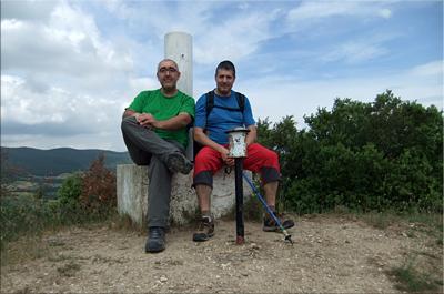 Montemayor mendiaren gailurra 734 m. -  2012ko ekainaren 8an