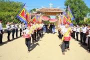 Đức Cha Giuse thăm mục vụ giáo xứ Quảng Thuận