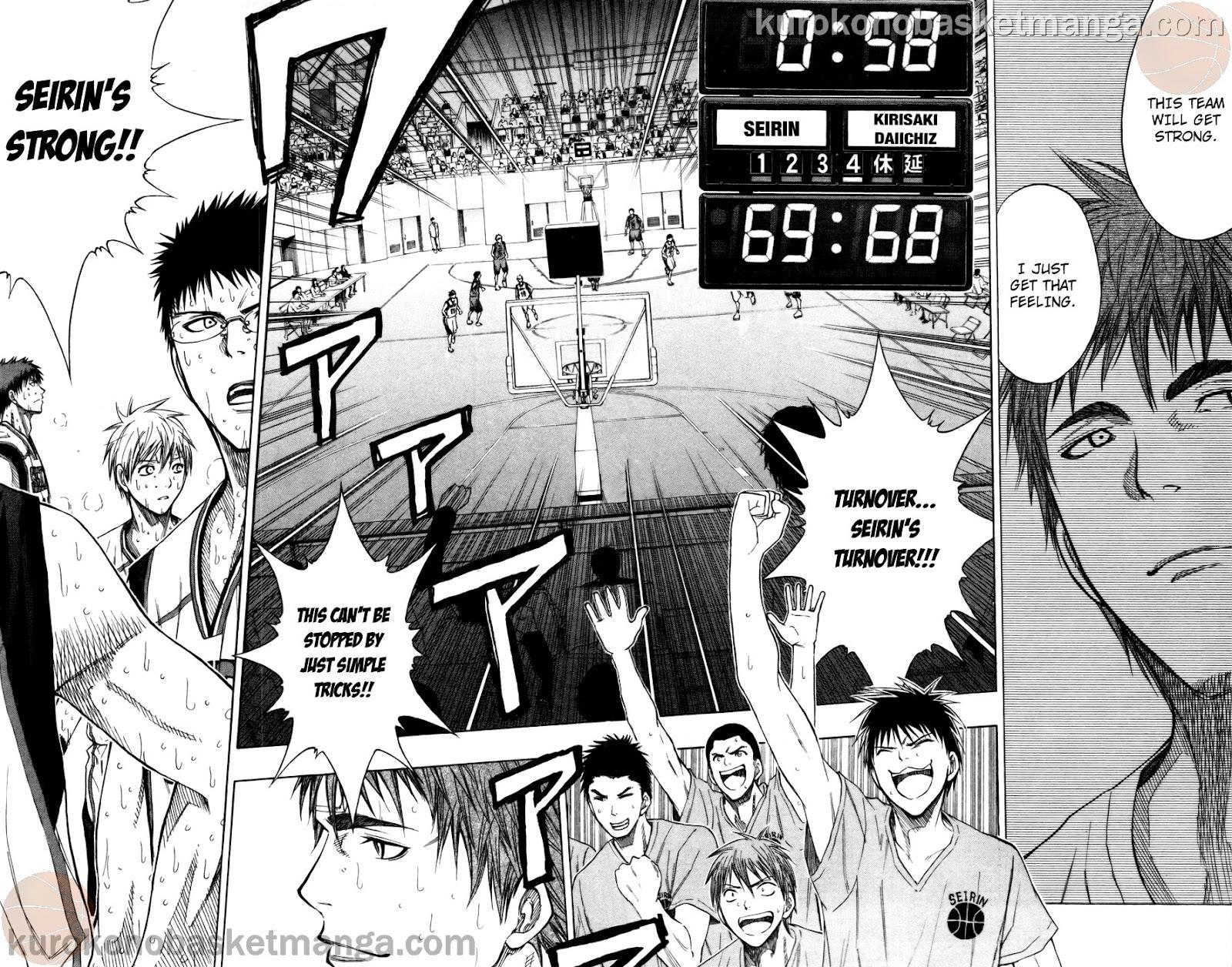Kuroko no Basket Manga Chapter 106 - Image 18-19