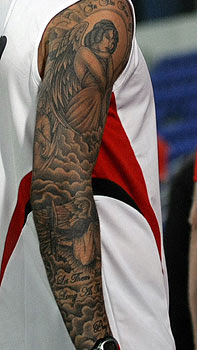 cheyfitness david beckham s tattoo timeline a history of