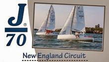J/70 one-design sailboat- sailing New England Circuit