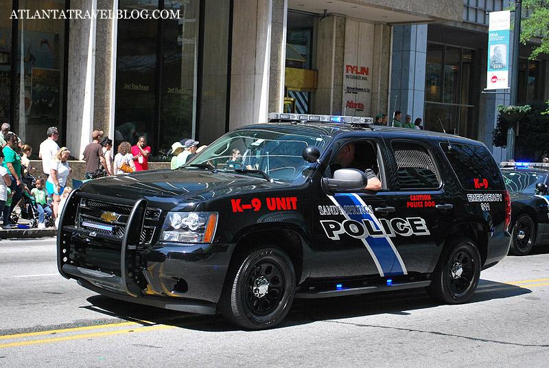 Atlanta Police Car