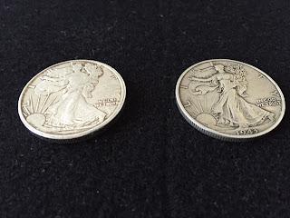 アメリカンイーグル1/2オンス/1943年ウォーキングリバティーコイン リバティー面