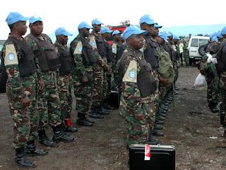 L'arrivée à Goma des soldats tanzaniens qui feront partie de la Brigade d'intervention de la Monusco (Photo Monusco)