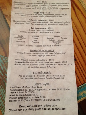 carmo cafe menu new orleans