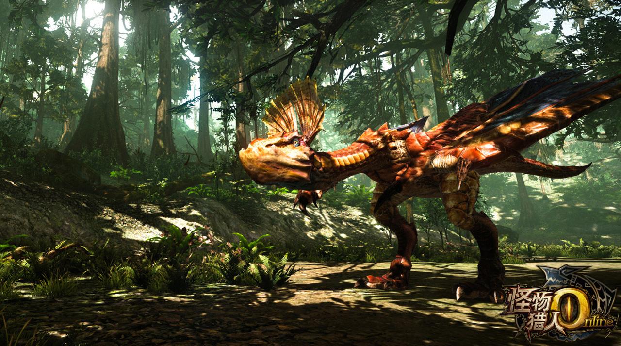 Ngắm loạt ảnh đầu tiên về Monster Hunter Online