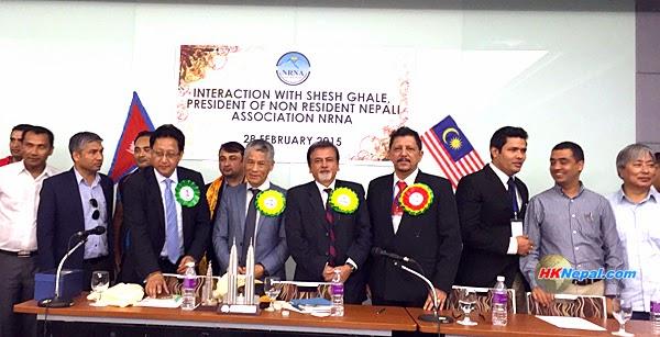 एनआरएन भवन निर्माणका लागि मलेसियाबाट ४६ लाख सहयोग