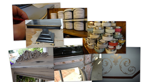 furniture paint workshop at The Whistling Elk