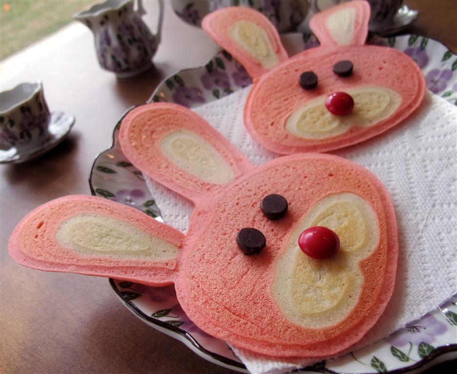 Be brave keep going how to make bunny pancakes ccuart Gallery