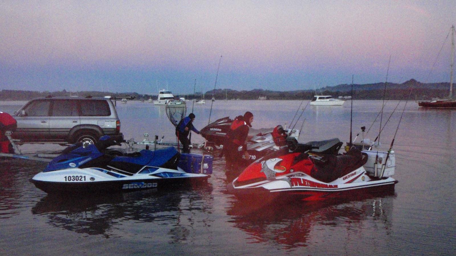 water hook up voor Jet Ski