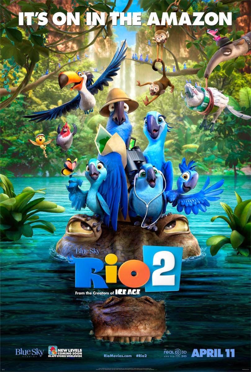 Rio 2 (2014) 1080p, solo 1.65gbs!