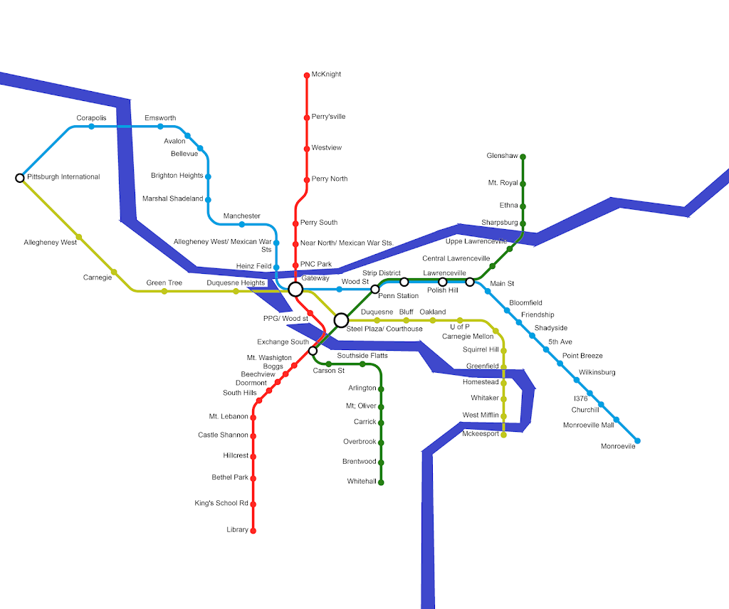 Pittaburgh Subway Map.Misc Fantasy Network Maps Page 77 Skyscrapercity