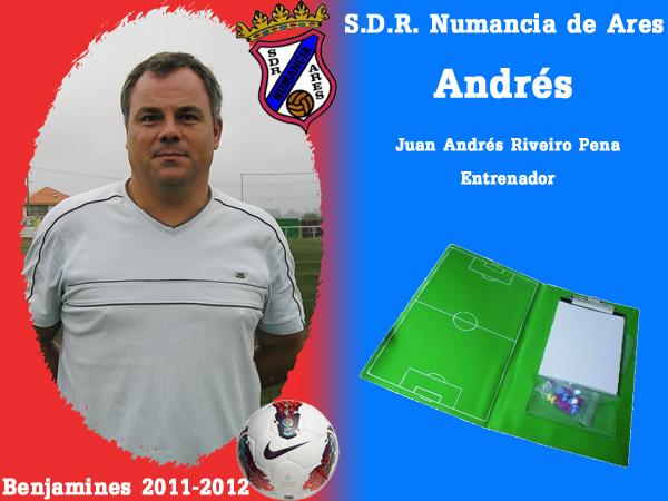 ADR Numancia de Ares. Benxamíns 2011-2012. ANDRES.