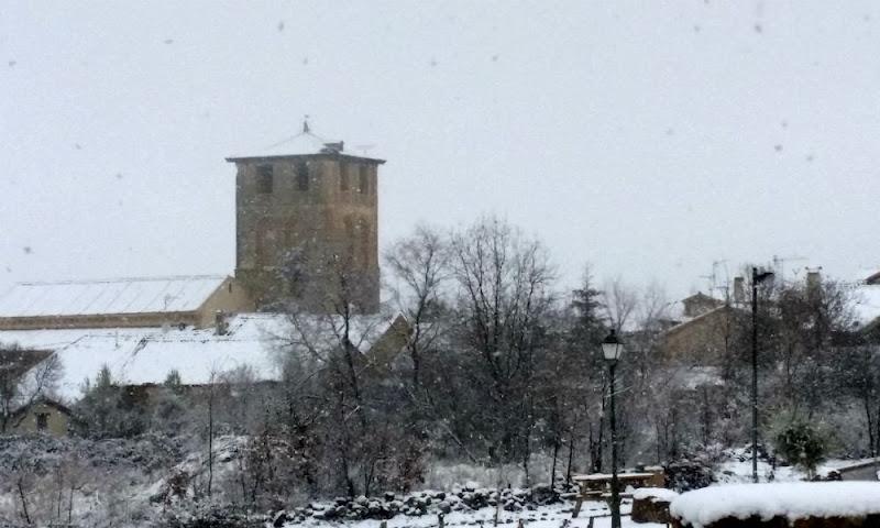 Nieva en Sotosalbos
