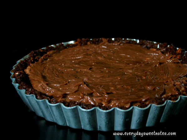Cream Cheese and Nutella Filling Tart