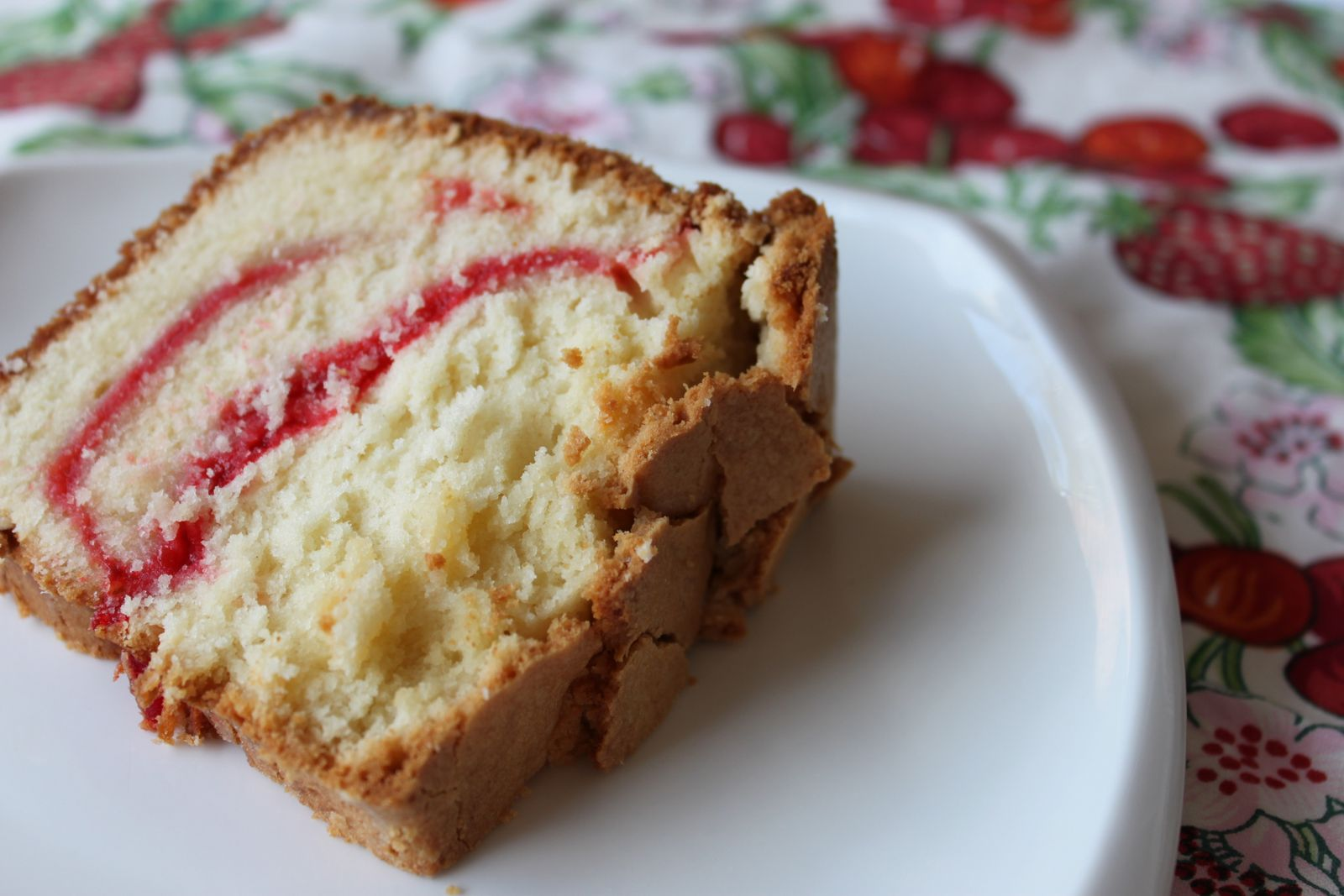 Recipe For Strawberry Swirl Cream Cheese Pound Cake