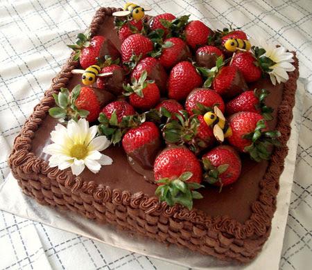 Торты с днем рождения рецепты с фото
