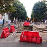 Житомир: В Житомире проходит капремонт теплосети улицы Михайловской. ФОТО