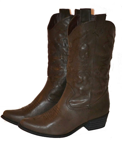 CAndy Womens Cowboy Boots - Dark Brown at Sears.com