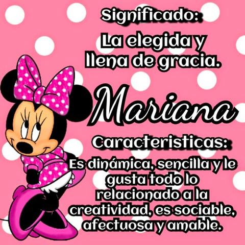 Mariana significado - Imagui