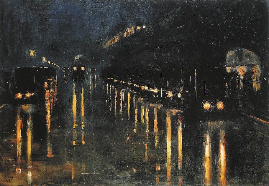 Lesser Ury - Hochbahnhof Bülowstraße