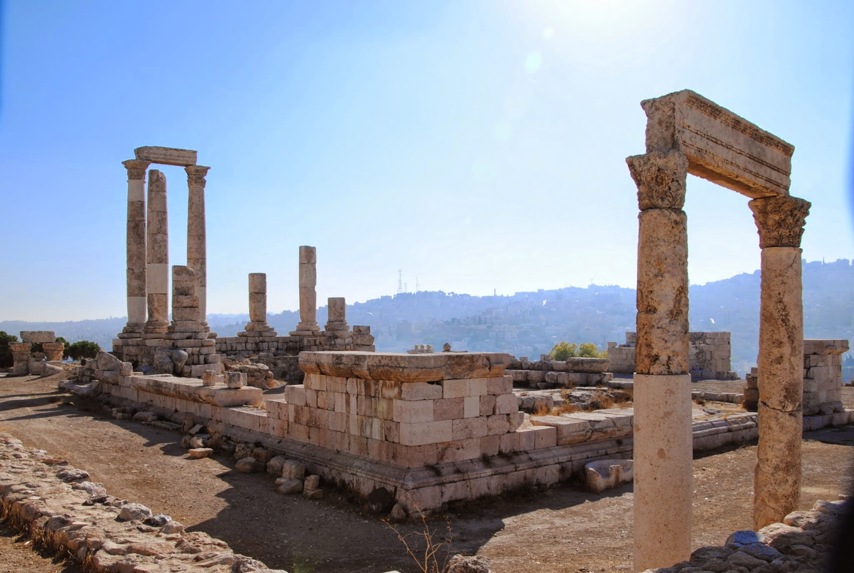 My Photos: Jordan -- Amman -- The Citadel