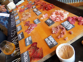 Portland Beer and Cheese Fest 2013: charcuterie provided by Chop Butchery