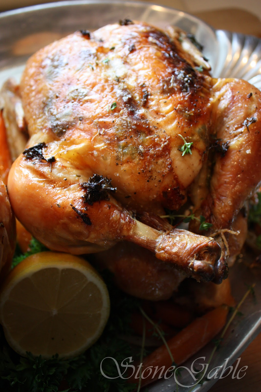 StoneGable: Ina Garten's Perfect Roast Chicken With A StoneGable Twist