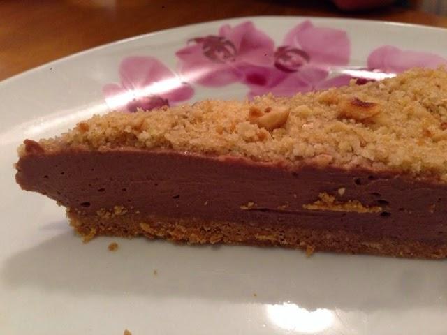 cheesecake fredda alla nutella