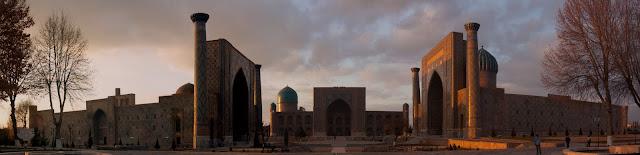 Plaza Registan, Samarcanda, Uzbekistán