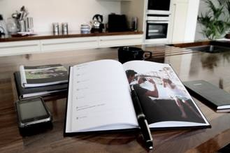 gorgeous photo diary from calendarwizard, perfect father's day 2012 gift idea!