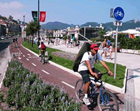 San Sebastián sancionará a los ciclistas que no cumplan la normativa