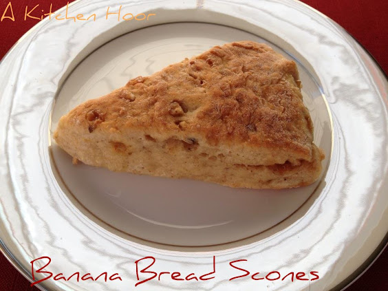 Banana Bread Scones
