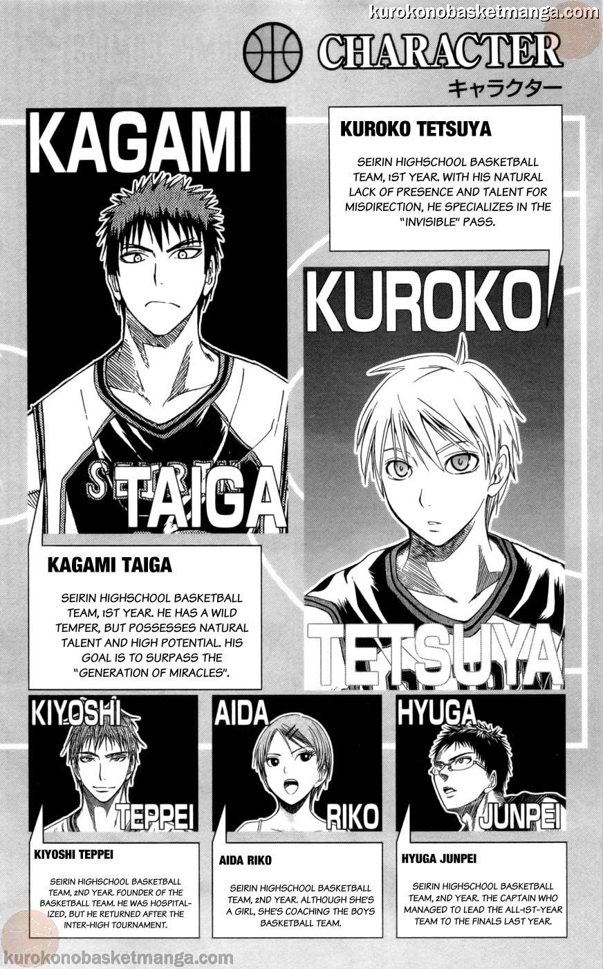 Kuroko no Basket Manga Chapter 81 - Image 02