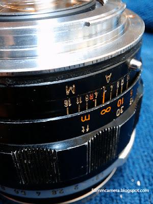 55mm camera, 55mm camera lens 16