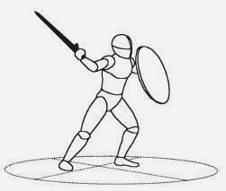 """""""Меч и щит"""". Джон Клементс. 2. Фундаментальные передвижения и работа ног."""