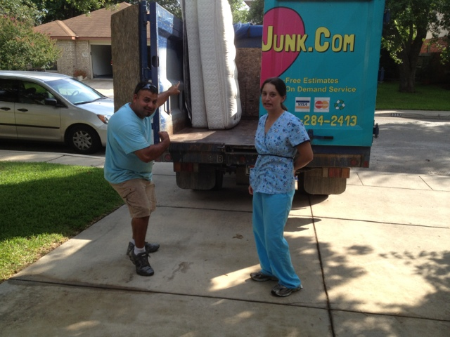 Mattress Recycling and Disposal Austin TX | We Heart Junk ...