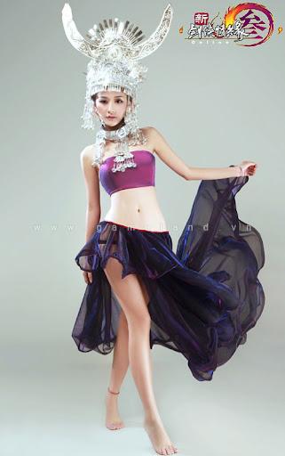 """Khi nữ hiệp VLTK 3 diện trang phục """"thiếu vải"""" 18"""