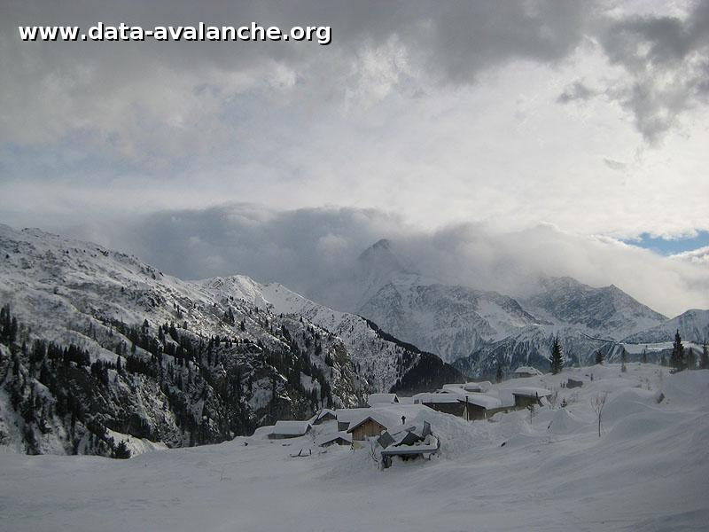 Avalanche Fiz, secteur Marteau, Sous le Marteau - Photo 1