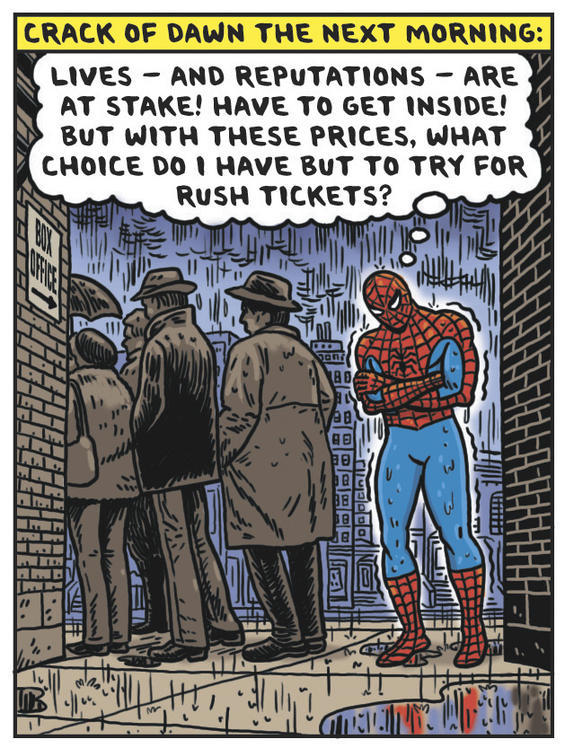 Spidey Super Theater Stories - Broadway's Tangled Web by Ward Sutton