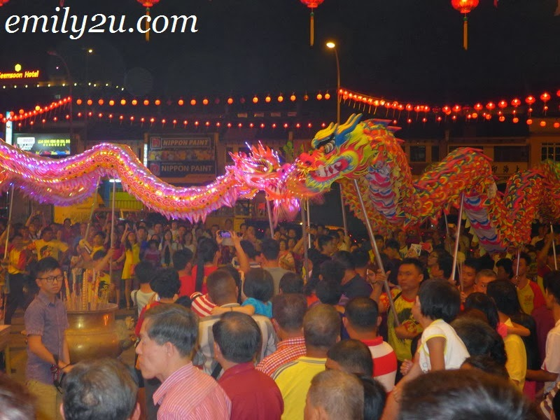 Chinese New Year eve celebrations